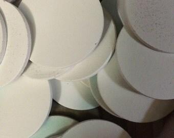 30 wooden 2 inch discs circles
