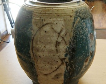 HOLD for S....Studio Pottery Vase..Signed