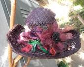 Funky Bohemian  Cowboy Hat