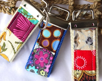 Keychains, mini, pack of 3