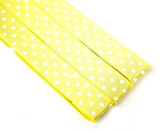 Pattern Magnet - Chart Keeper Magnetic Bookmark - Knitting Crochet Supplies Tools - Set of 3 - Polka Dots (yellow)
