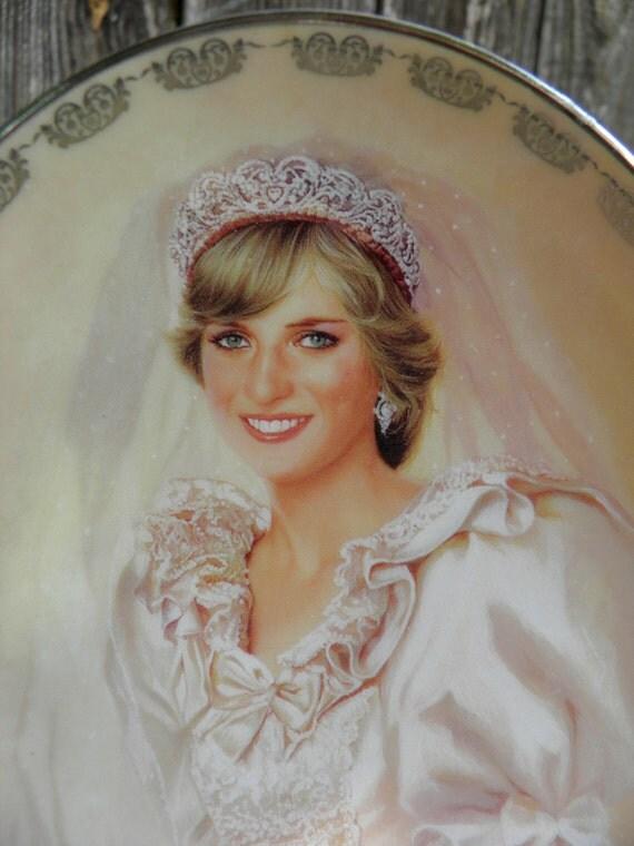Princess Diana Porcelain China Collectible Plate The