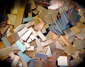1 Pound RAW Copper or Brass Scrap - 18 Gauge Mostly Small Cuts some pieces with Protective PVC - Made in USA