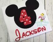 Mickey Birthday Party Shirt ~ Disney Birthday Shirt ~ 4th Birthday Shirt ~ Birthday Shirt ~ Mickey Mouse Clubhouse ~ Toodles