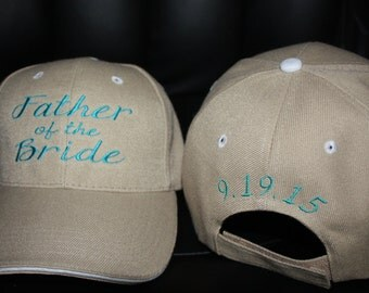 Custom Baseball Hat- Father of the Bride