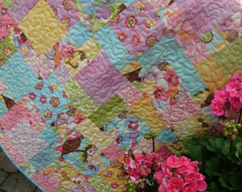 Sweet Baby Cakes Baby Quilt