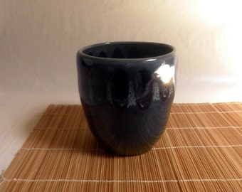 handmade Ceramic Vase, BLUES