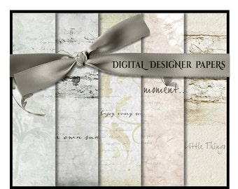Digital Papers - Subtle Focus - 12x12 Expertly Designed Photography and Scrapbook Backdrops.
