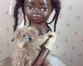 OOAK artist cloth doll