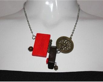 bijoux mode, collier court, bijoux fantaisie, cadeau bff, short necklace, collier noir, mode jewelry, collier ajustable, collier corde cirée
