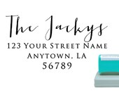 Personalized Self Inking Pre Inked Custom Made Return Address Stamp R277