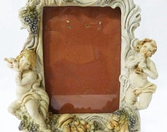 "Angels photo frame resin 7"" x 5.5"""
