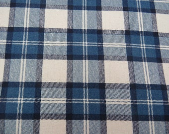 blue and white buffalo check upholstery fabric by the yard from shopmyfabrics on etsy studio. Black Bedroom Furniture Sets. Home Design Ideas