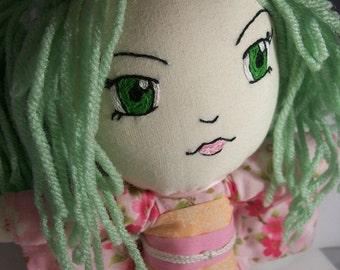 Aya Cherry Blossom Festival Soft Plushie Doll
