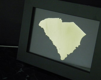 SOUTH CAROLINA, personalized state art, all fifty states available