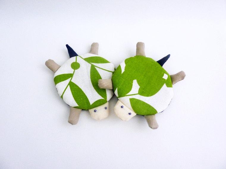 Cute Coasters Turtle Coasters Drink Coasters Fabric