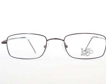 Logo Paris Never Used NOS Eyeglass Frame. Designer Eyewear. Metal. Sunglasses. Prescription Quality