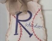 Georgia Baseball Door Hanger