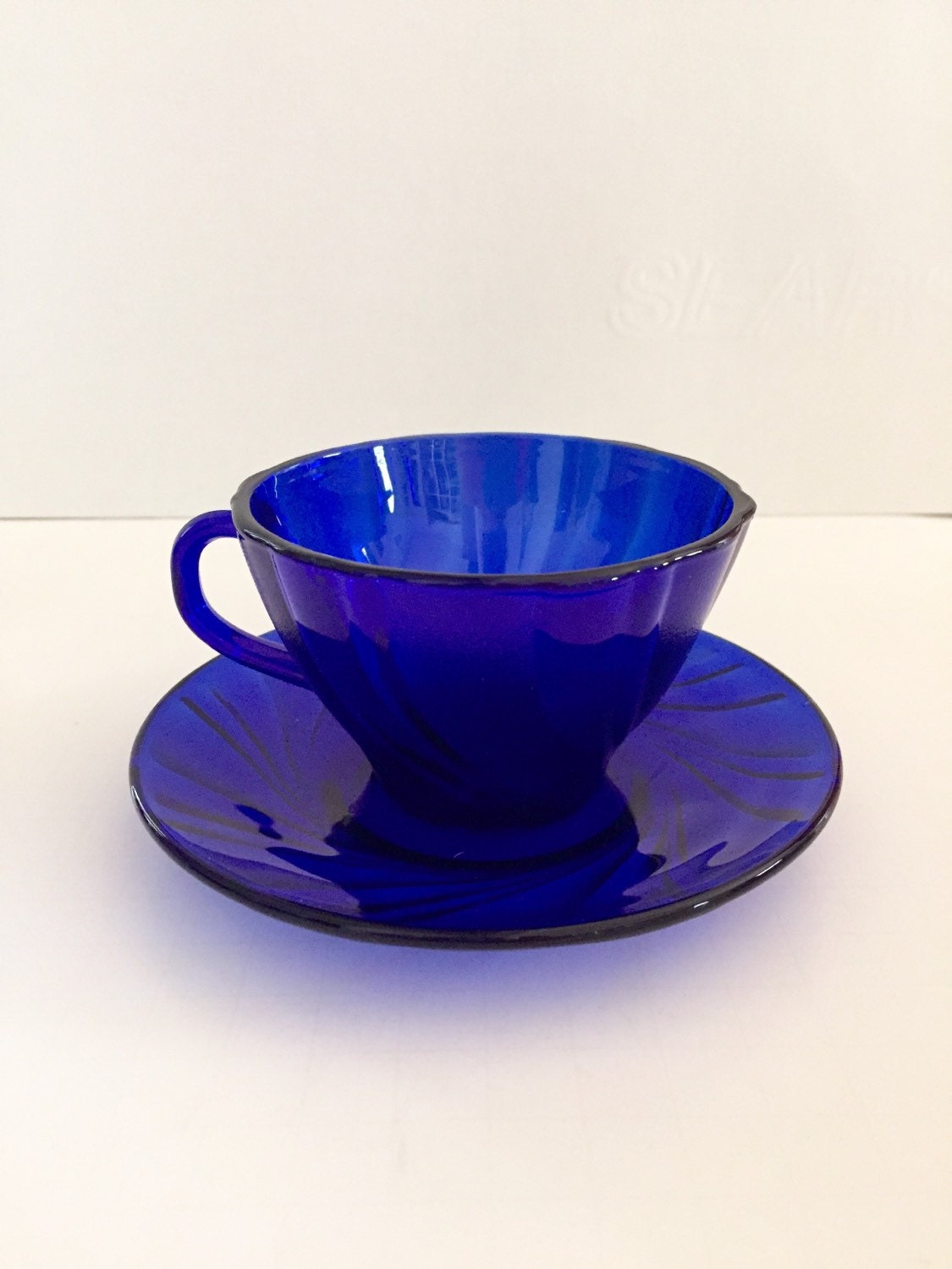 Vintage Glass Cup 81