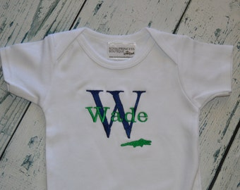 Custom Personalized infant Bodysuit with Plane