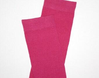 Fuchsia Pink Baby Toddler Leg Warmers