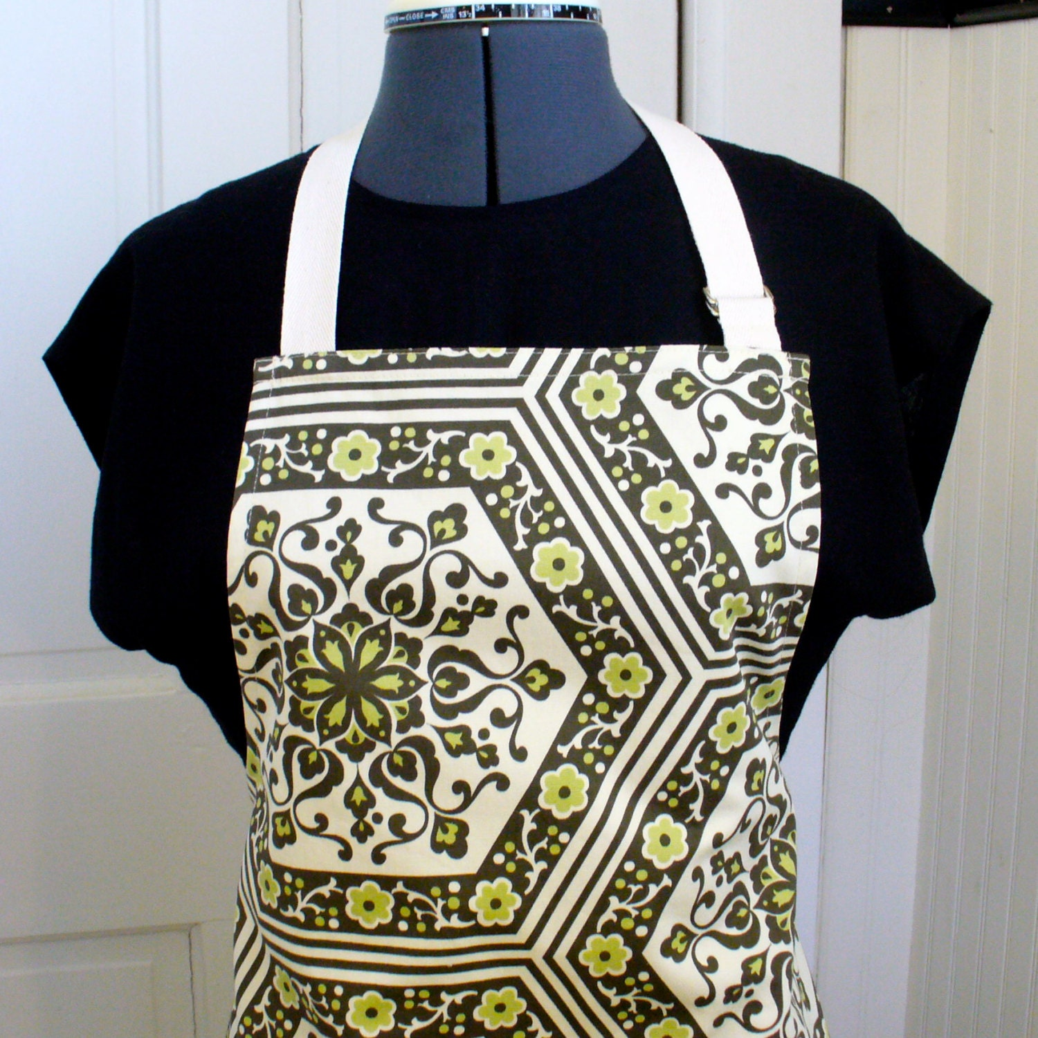 Amy Butler Home Decor Fabric Similiar Apron Decorated With Fabric Markers Keywords