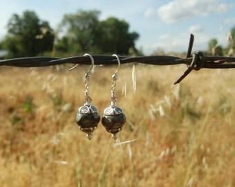 Beautiful Boro Handmade Glass Bead Earrings
