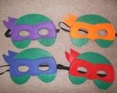 Ninja Turtles Masks