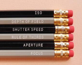 Paper Pastries Photography Pencil Set