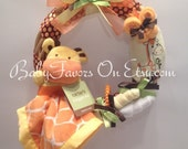 Giraffe Baby Wreath