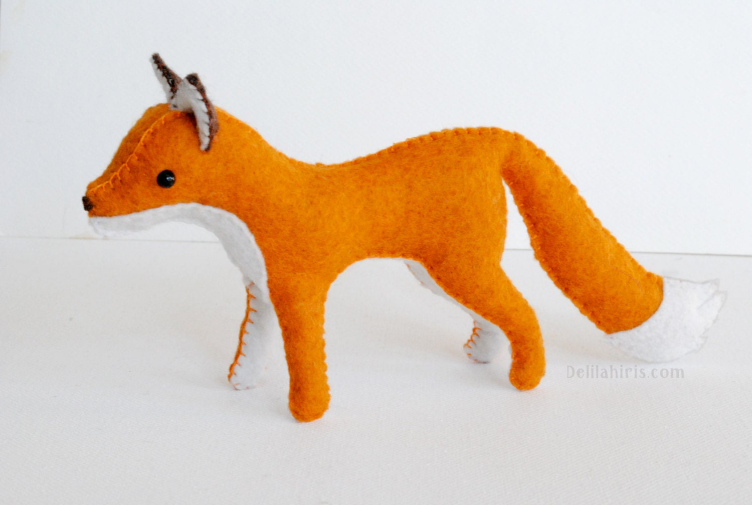 Stuffed animal fox pattern