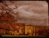 Dreamy Fairytale Castle Photo - Storm Over Lacock - British Castle Photograph - Travel Photography - Fairytale Art - European Castle