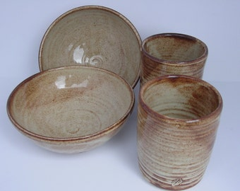 Bowls and Tumblers Set