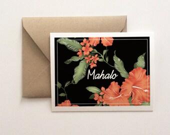 Mahalo Thank You Card