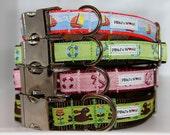 PBJ World Custom Ribbon Collars 3/4th and 1 inch Widths