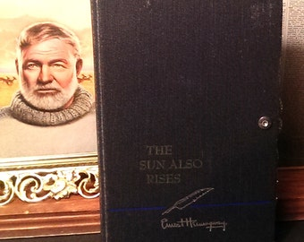 Custom Book Clutch Ernest Hemingway Select a Title Literary Book Clutch Made to Order
