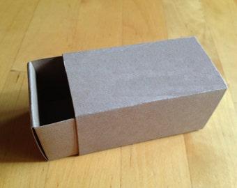 2 Piece Slide Box - Blank Favor Box - Truffle/Caramels/Bon Bon - Matte