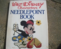 Vintage Walt Disney Characters Needlepoint Book