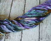 Hand Dyed Ribbon - NeW - PIXIEVILLE quarter inch wide ribbon, 5 yards