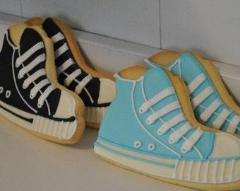 Sneakers Sugar Decorated Cookies