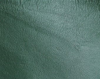 GREEN soft leather / leather swatch / leather sample--choose this leather for selected bags or purchase a swatch