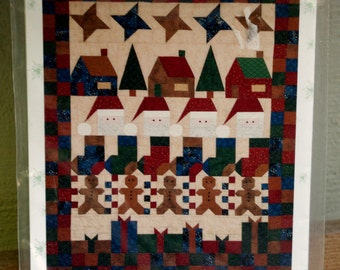 Rows of Christmas Joy Quilt Pattern