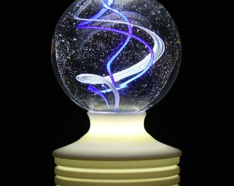 LIGHTED!! Marble Stand -Hot Glass or Paper Weight Acrylic Stand!! special MS72-4