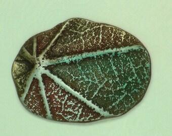 Organic Leaf Star Cabachon