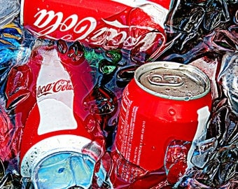 Have a Coke on Ice 8 x 10 photograph