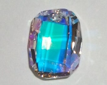 1 Swarovski crystal pendant 19mm Graphic 6685 Crystal Pendant Crystal AB