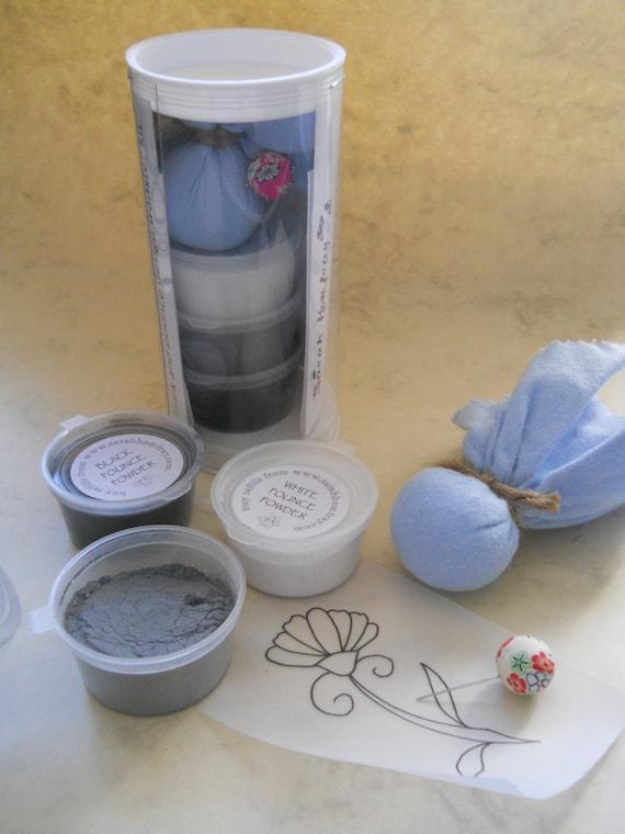 Prick and pounce design transfer kit