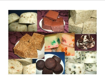 Homemade Soap Grab Bag, 3 Full Size Bar Assortment, Closeout On Homemade Soap, Large Variety Of Bath Soaps for your Face and Body