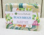 Beach Breeze Bar of Soap - Green Daffodil