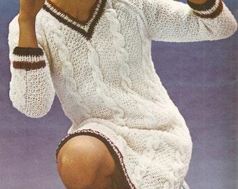 cricket dress knitting pattern